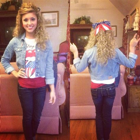 U0026#39;Merica day outfit for homecoming | Beautiful awesome wonderful things | Pinterest | Mondays ...
