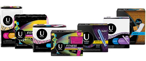 U By Kotex®  Tampons, Maxi Pads, Liners, & Period Info