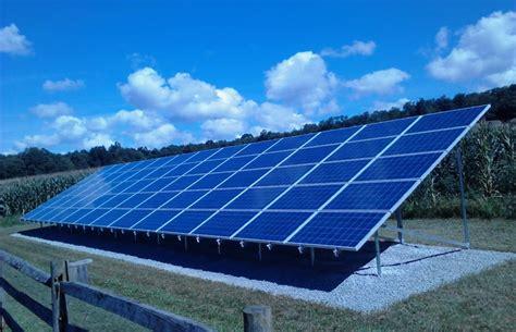 Consultation and Proposal, Regular Ground Mount Solar ...