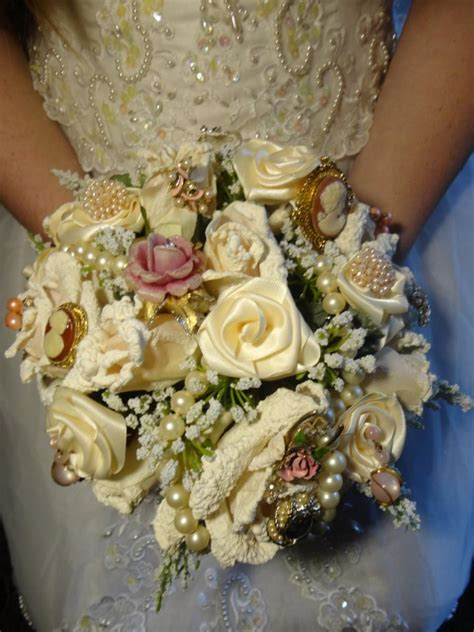 Winter Bridal Brooch Bouquetbrooch Bridal Bouquetblush