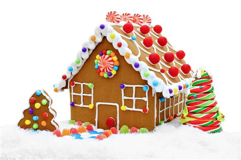 Gingerbread House Clip Gingerbread Clipart Decoration Pencil And In Color