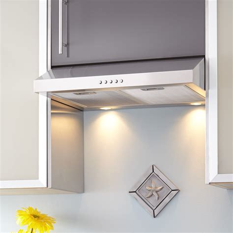 Under Cabinet Stainless Steel Range Hood Droughtrelieforg