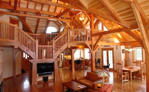 craftsman style home interiors timber frame home designs and floor plans exles great