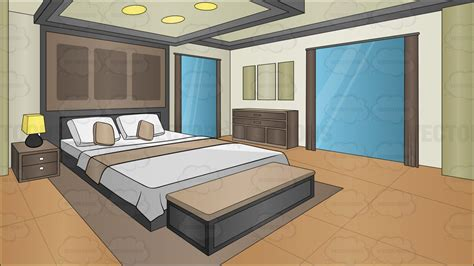 free home interior design software a modern bedroom background clipart vector