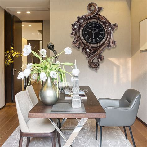 rustic large wall clocks modern decorative personalized