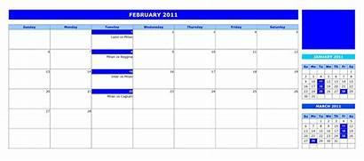 Calendar Monthly Openoffice Templates Openofficetemplates