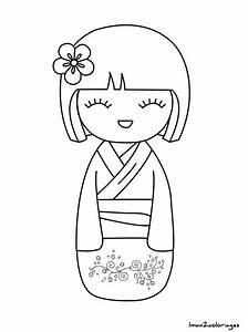 Maison Japonaise Dessin : coloriage numero facile ideas coloriage lol coloriage poupee japonaise numero 24 dessins facile ~ Melissatoandfro.com Idées de Décoration