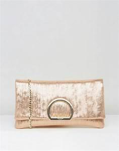 Pochette Rose Gold : dune dune rose gold clutch bag ~ Teatrodelosmanantiales.com Idées de Décoration