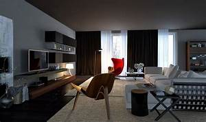 Awesomely stylish urban living rooms for Urban living room