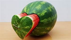 DIY Watermelon Heart - YouTube