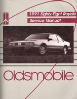 automotive service manuals 1997 oldsmobile 88 user handbook 1991 oldsmobile eighty eight royale factory service manual