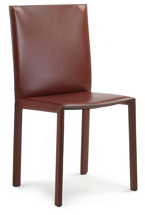 lc03 italian leather chair modern design made in italy