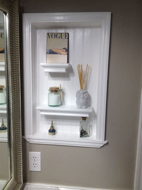 Bathroom Medicine Cabinet by We Turned A In The Wall From An Mirrored Medicine