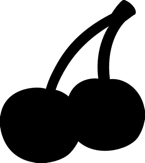 Cherry Black Clip Art At Clkercom  Vector Clip Art