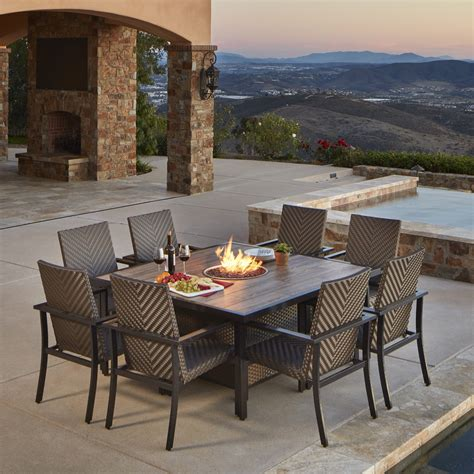 madrid 9pc dining collection mission furniture