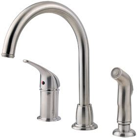 Pfister Faucet Reviews by Pfister Fwk1680s Kitchen Faucet Review Kitchen Faucet