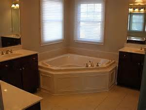 corner tub bathroom ideas corner tub