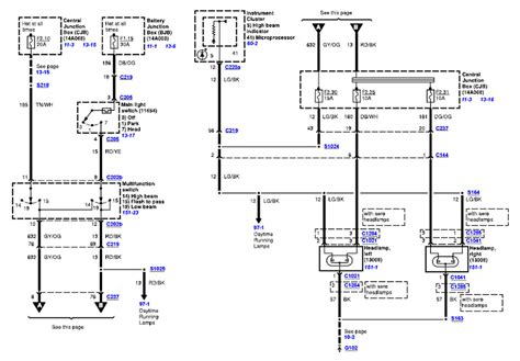 2008 Ford Econoline Wiring Diagram by Low Beam On Light Wont Work On A 2006 E350 Cut Away