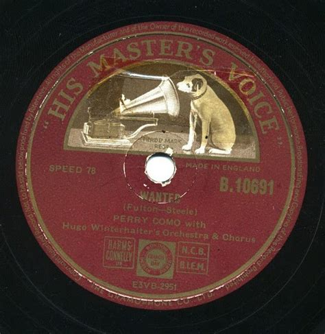 perry como wanted all that jazz perry como wanted 1953 give me your