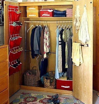 College Closet Organization Ideas by Creative Room Decorating Ideas Back To School