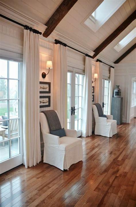 60 elegante Designs von Gardinen für große Fenster