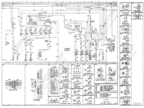 78 Ford Ranchero Wiring Diagram by 1973 1979 Ford Truck Wiring Diagrams Schematics