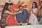 CCIL CMD Rajeev Reddy cutting special cake with the divas ...
