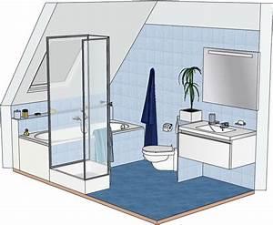 Qm Berechnen Dachschräge : bad mit dachschr ge badumbau bei bewegungseinschr nkungen badgr e circa 6 3 qm 190x330 cm ~ Themetempest.com Abrechnung