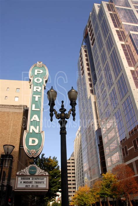 Theater Portland by Photo Of Portland Theater By Photo Stock Source Sign
