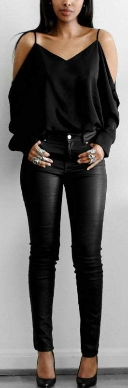 Best 25+ All black outfit ideas on Pinterest | All black fashion Bolsos casual and Heels outfits