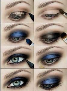 Maquillage Pour Yeux Marron : comment maquiller les yeux bleus le maquillage des stars ~ Carolinahurricanesstore.com Idées de Décoration