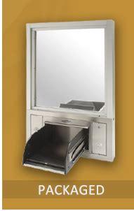 drawer safe drive thru equipment pass thru windows drawers