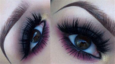 dark smokey eye   pink twist makeup tutorial youtube