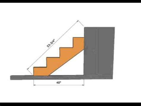 figure length  stair stringer construction math