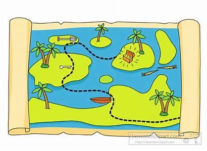 Clipart Treasure Map Clip Cartoon Pirates Maps