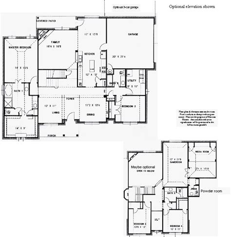highland homes floor plans 229 the highland plan harrison homes