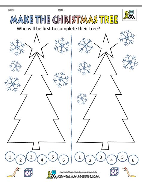 christmas tree math math