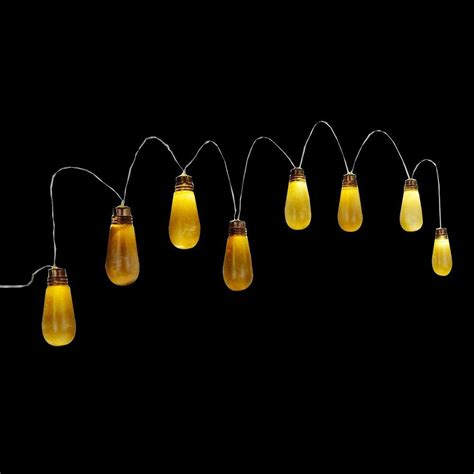 home accents 8 light fashioned bulb string