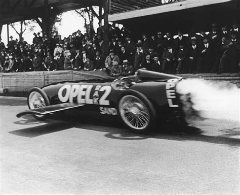 Opel Raketenauto opel rak 2 rocket speed record anniversary photo 4 3135