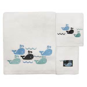 whale watch bath towel set whales waves