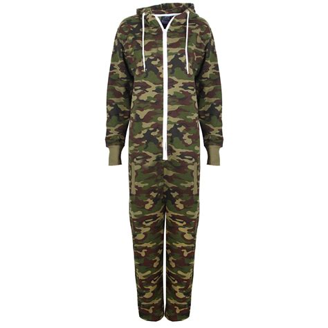 army jumpsuit childrens camo fleece hooded army green jumpsuit all