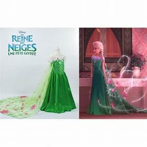 Deguisement Princesse Disney Adulte : robe d 39 t elsa verte d guisement la reine des neiges 2 ~ Mglfilm.com Idées de Décoration