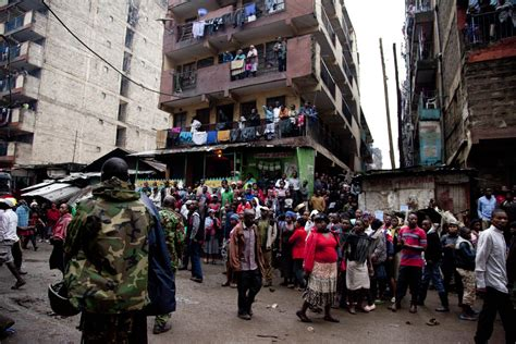 Seven Dead In Nairobi After Building