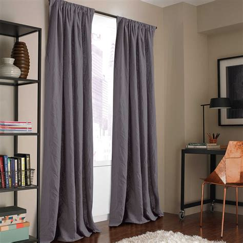 kenneth cole reaction home mineral 95 inch window curtain
