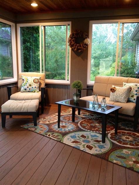 enclosed decks ideas  pinterest patio deck