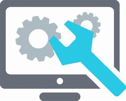 Icon Computer Repair Service Control Monitor Clipart