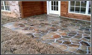 outside patio flooring diy concrete patio ideas concrete With easy diy patio floor ideas