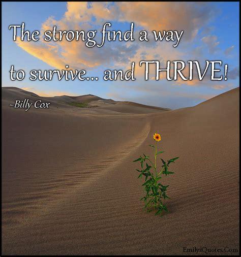 strong find    surviveand thrive popular