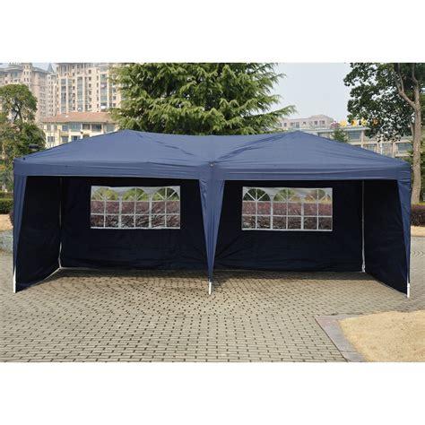 green houses kits 10 x 20 pop up tent canopy w 4 sidewalls 5 colors