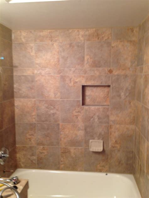 Lowes Bathroom Floor Tiles by Bathroom Give Your Shower Some Character With New Lowes